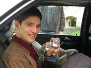 Colin Morgan Behind The Scenes Series 1-1