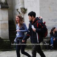 Colin Morgan Behind The Scenes Series 5-14