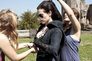 Katie McGrath Behind The Scenes Series 5-2