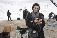Katie McGrath Behind The Scenes Series 5-3