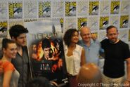 Merlin Cast and Crew Comic Con 2012-5