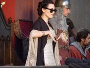 Katie McGrath Behind The Scenes Series 3