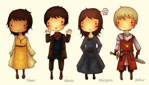 Merlin characters fan art