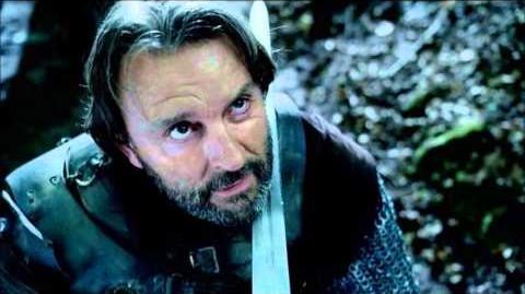 """Merlin 5×04 Arthur fight scene 2 """"Another's Sorrow"""""""
