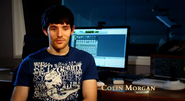 Colin morgan bts