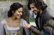 Gwen Angel Coulby and Gwaine Eoin Macken-0