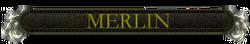 Merlin nameplate