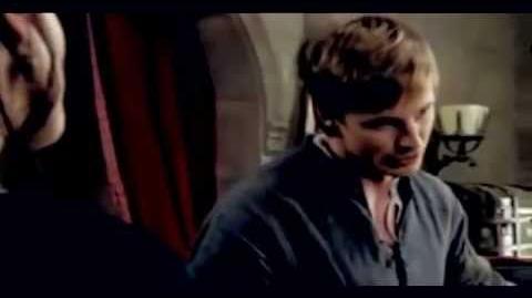 "Arthur Merlin ""...I'd never let them come between us."""