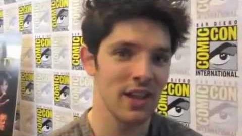Colin Morgan Comic Con 2012 'Merlin' Interview
