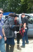 Alexander Vlahos and Colin Morgan Behind The Scenes Series 5-2
