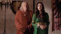 3x10 Morgane Gaius Emrys