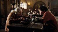 1x01 Merlin Gaius discussion