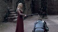 2x08 Arthur test Morgause