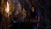 3x01 Morgane complot Morgause Mandragore