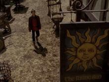 Merlin dans la ville basse