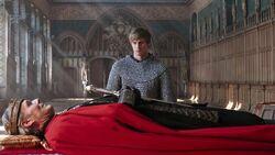 4x03 Uther mort Arthur