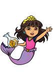 Mermaid Dora With Coins