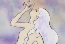 Mermaid Princess Drinking