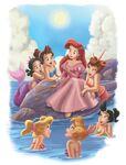 Disney-princess-arile-her-sisters-telling-story-Favim.com-2701578