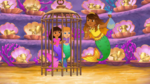 Dora And Mariana caged by La Sirena Mala