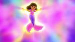 Mermaid Dora Doing magic