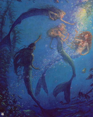 Mermaids and Bubbles