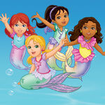 Kate Emma Naiya and Alana Mermaids