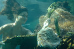 Foxy Cleo Underwater