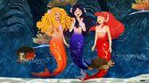 Mermaid laugh