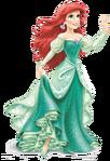 Green dressed Ariel