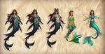 Dark Parables Mermaid Concepts