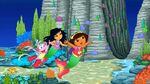 Maribel and Dora Near a Canyon