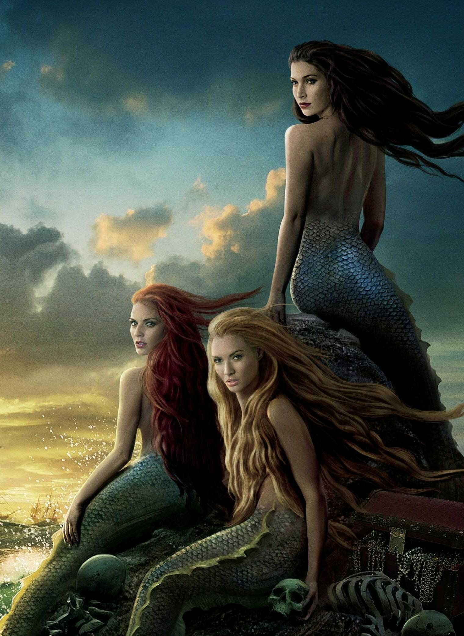 merfolk (pirates of the caribbean) | mermaid wiki | fandom powered