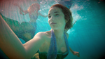 Jackie Swimming