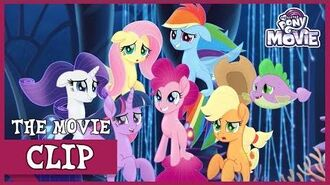 Queen Novo's Pearl Transforms The Mane 6 Into Seaponies My Little Pony The Movie Full HD