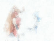 Sheshe And Mimi Opening Their Arms For Each Other