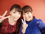 Noriko Shitaya And Miki Tsuchyia Selfie❤️💙