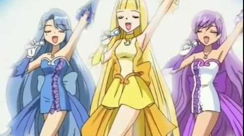 Mermaid melody kodou coco, noel, and karen