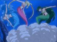 Lucia,Hanon And Rina Stuck In Clam
