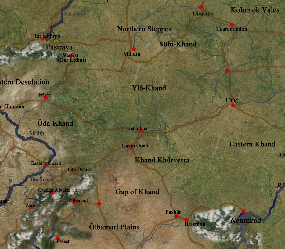 Upper Khand comprised the eastern and northern