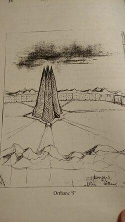 Orthanc-sketch-Tolkien
