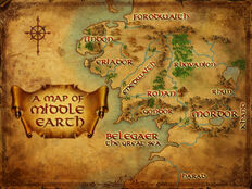 Middle Earth in LOTRO