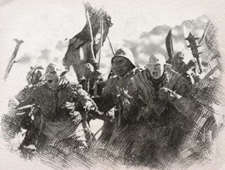 Orcs attacking
