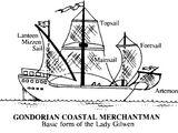 Gondorian Coastal Merchantman