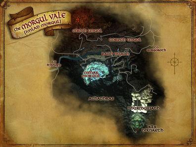 Morgul Vale map
