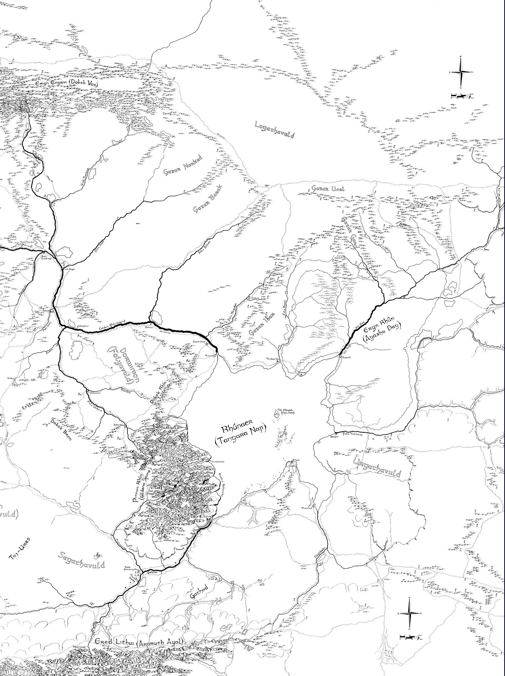 Rhûn (Gondorian Province)   The Notion Club Archive   FANDOM
