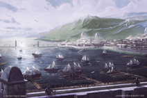 Pelargir-Docks-Heirs-of-Numenor