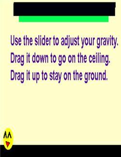 Gravity tricks