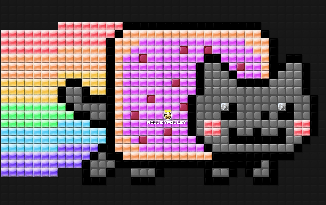 File:Nyan Cat - The Poptart Cat The Pooped Rainbows.png