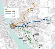 Merseytram-map
